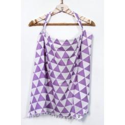 Ποδιά κάλυψης θηλασμού  Purple Color Love