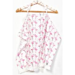 Ποδιά κάλυψης θηλασμού Flamingo