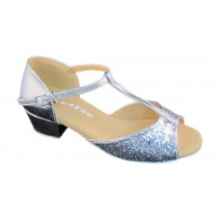 Silver Patent and Glitter 7075
