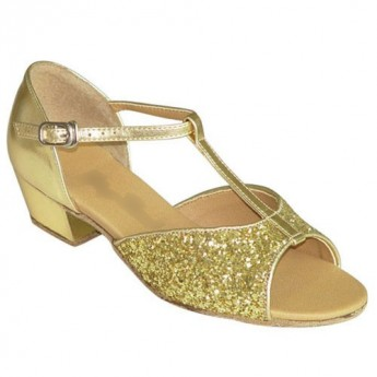 Gold Patent and Glitter-160904b