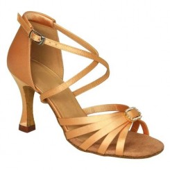 Tan Satin with Strass-160702