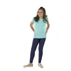Παιδικό κολάν λύκρα γυαλιστερό  Dark navy blue