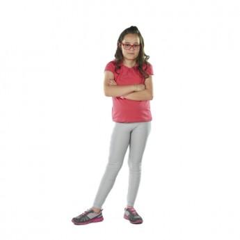 Παιδικό κολάν λύκρα γυαλιστερό  Ασημί