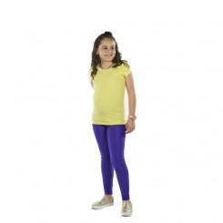 Παιδικό κολάν λύκρα γυαλιστερό Λεβάντα