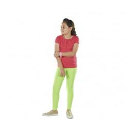 Παιδικό κολάν λύκρα γυαλιστερό Λαχανί