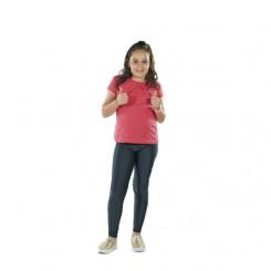 Παιδικό κολάν λύκρα γυαλιστερό Κυπαρισσί