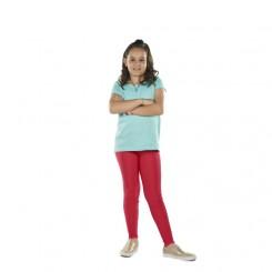 Παιδικό κολάν λύκρα γυαλιστερό Κόκκινο